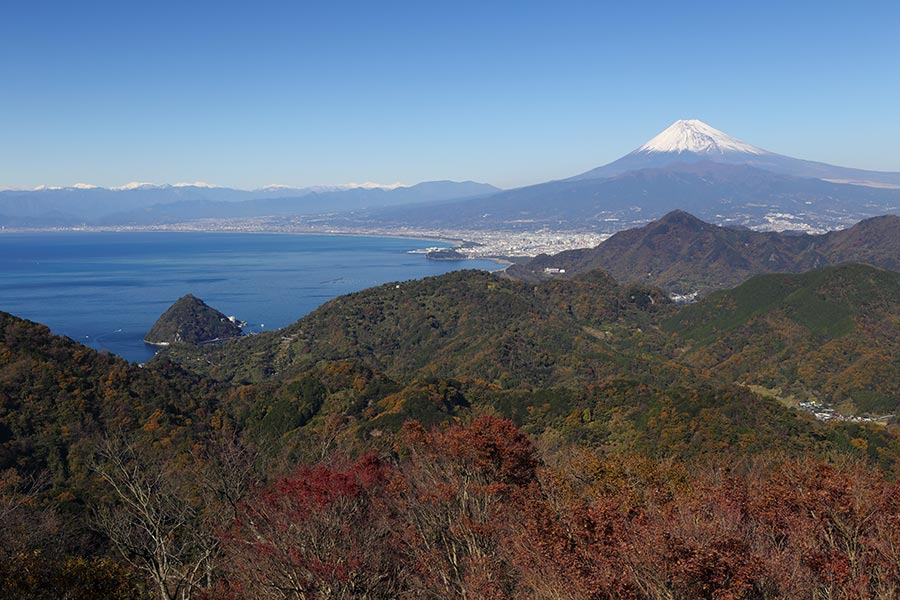 葛城山からの富士
