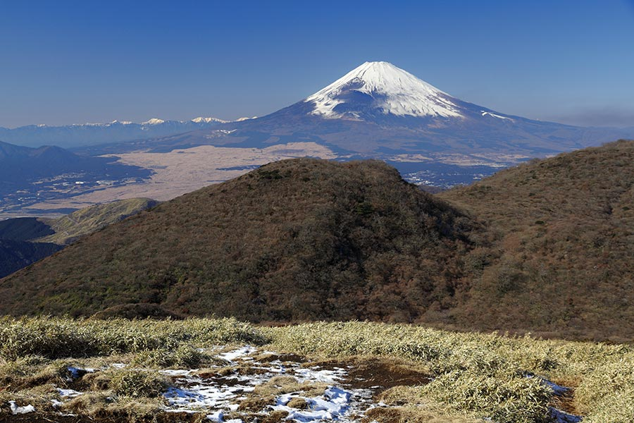 箱根・駒ヶ岳からの富士
