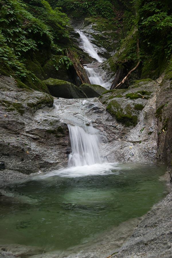 鉄砲沢の滝