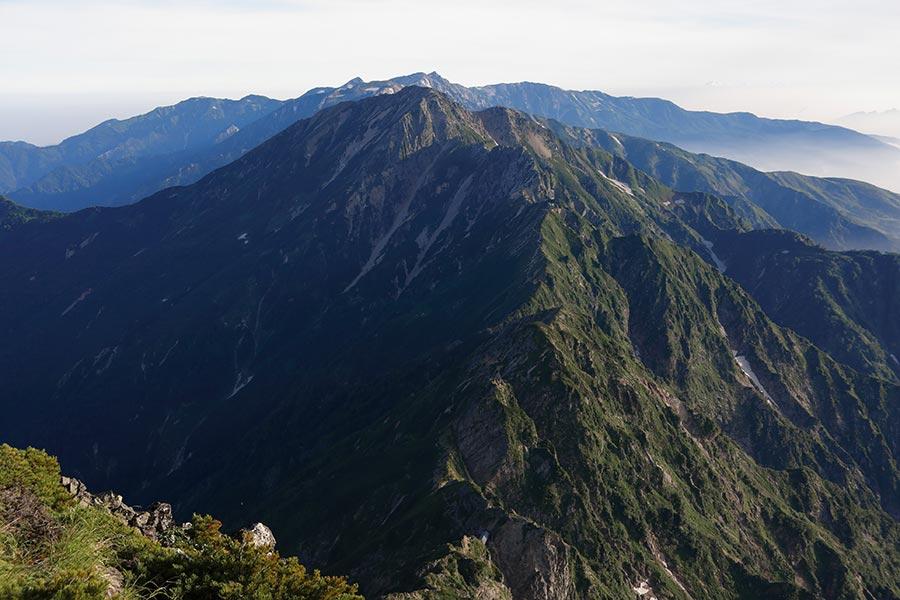 五竜岳・白馬岳の眺め