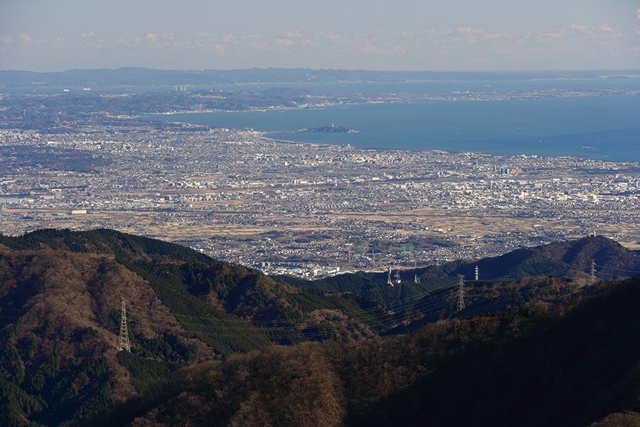 江ノ島方面の眺め